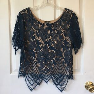Lacey crop top (NWT)